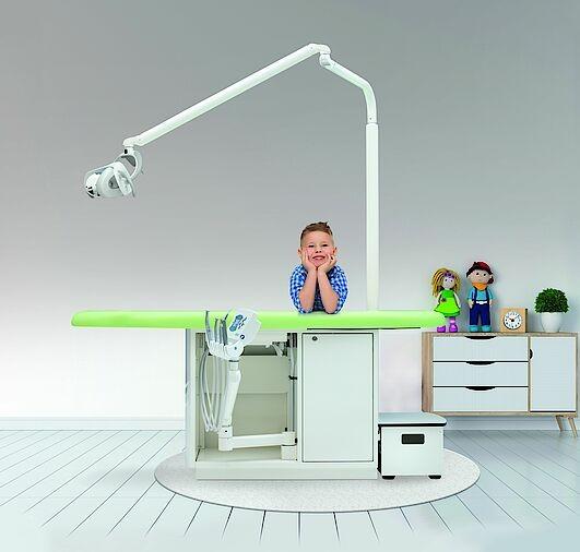 Fridolin Individual-Klasse Behandlungseinheit für die Kinderzahnheilkunde